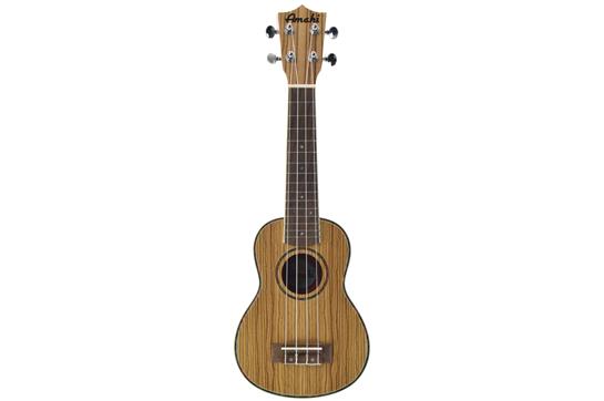 Amahi UK330S Zebrawood Soprano Ukulele